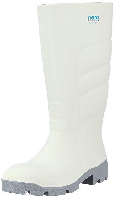 Max 72270 - Bottes de Pluie - Mixte Adulte - Blanc (Weiß 10) - 47Nora inuOeG