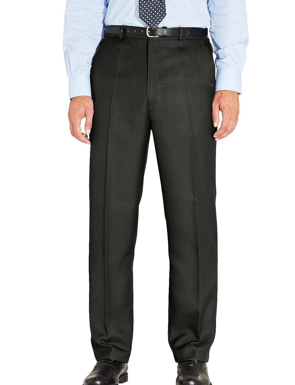 TALLA Cintura 112cm x Longitud De Las Piernas 74cm. Chums Pantalones Elásticos Formales de Calidad, para Hombre