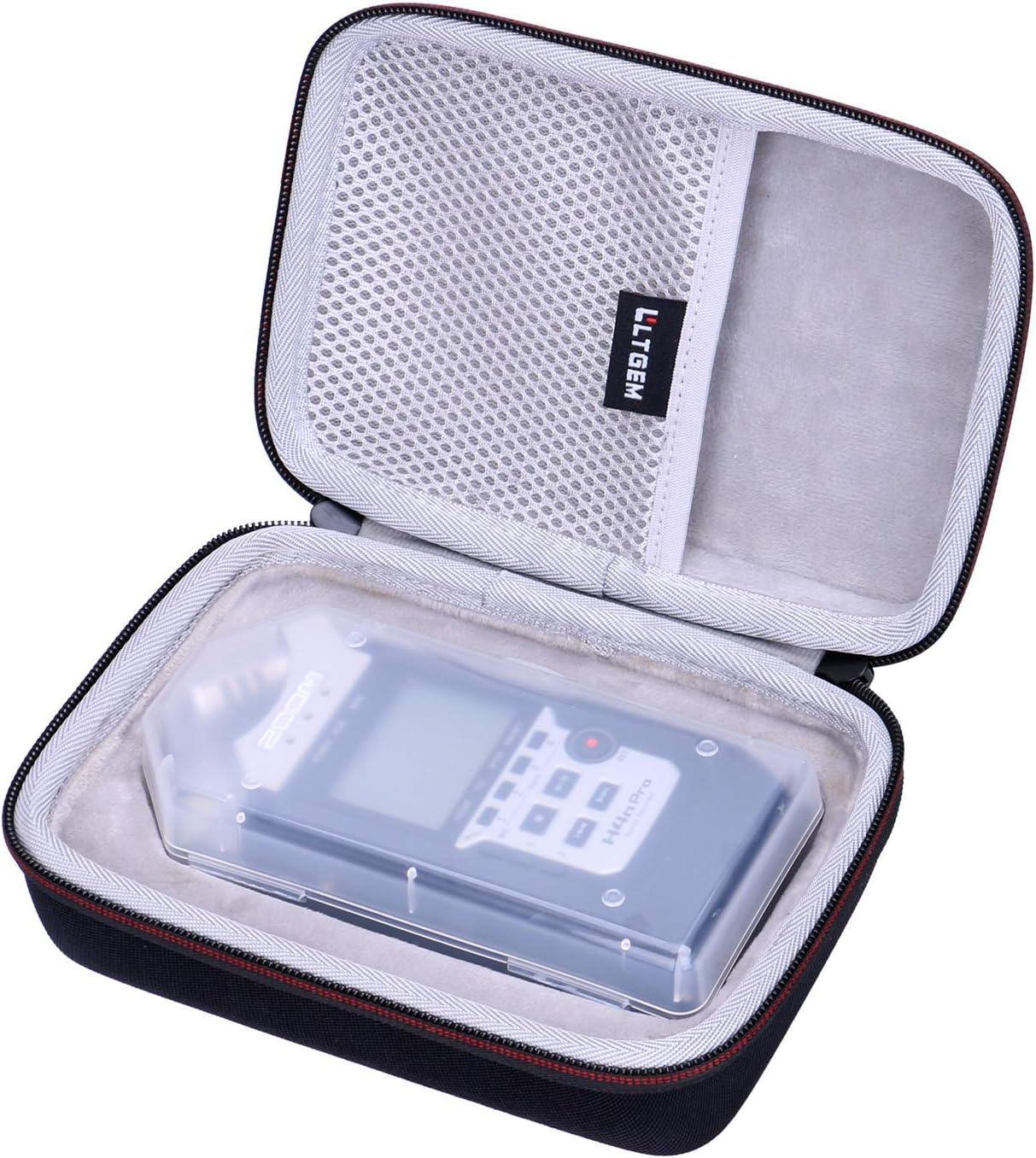 Travel Protective Carrying Storage Bag LTGEM EVA Hard Case for Zoom H4n Pro Digital Multitrack Recorder