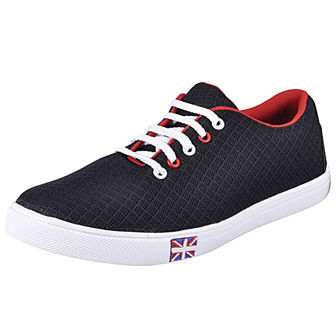 FAUSTO Men's Mesh Sneakers Casual Shoes Men's Sneakers at amazon