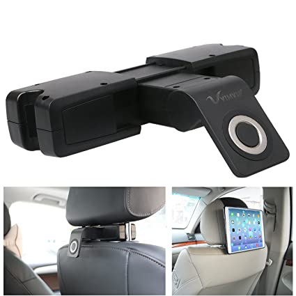 VIMVIP Magnatic Support Head Bolster Headrest Car Seat Mount Holder For IPad Samsung Galaxy All Tablets