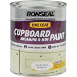 Ronseal One Coat Cupboard Paint Natural Stone 750ml