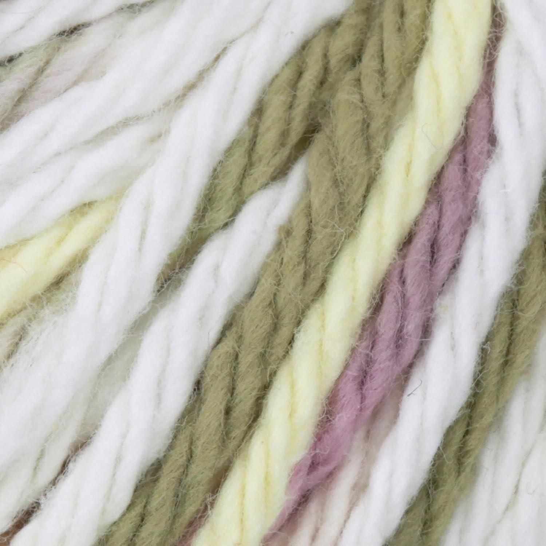 Ombres Super Size Buttercream Spinrite Sugarn Cream Yarn