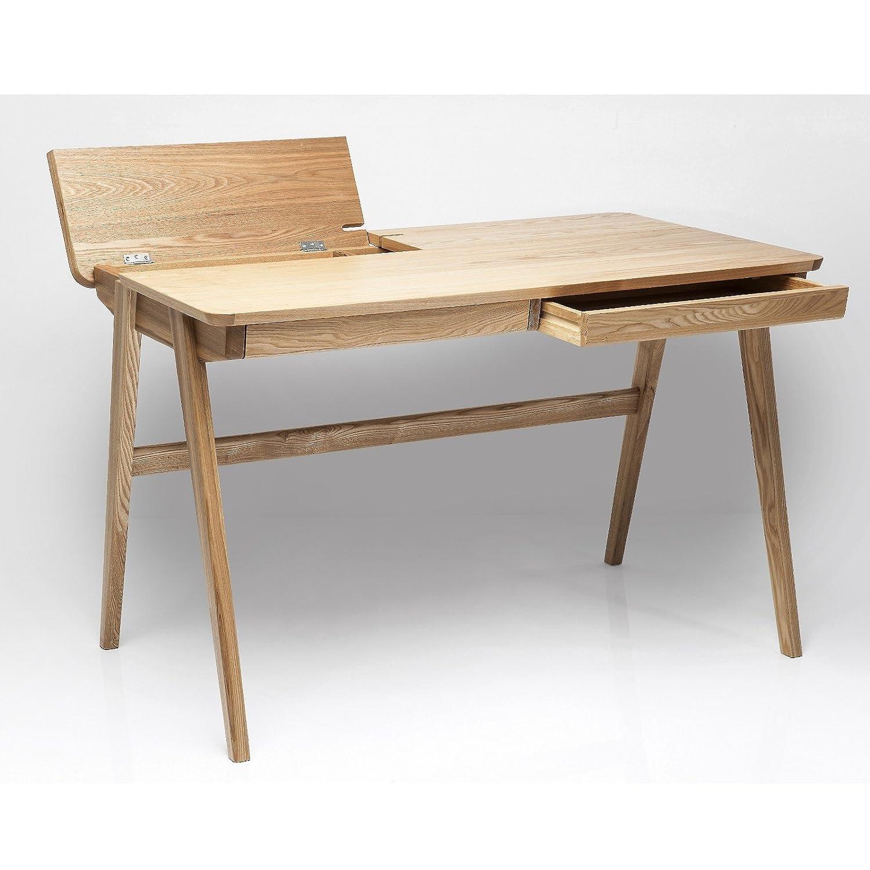 Schreibtisch holz modern  HOLZ SCHREIBTISCH