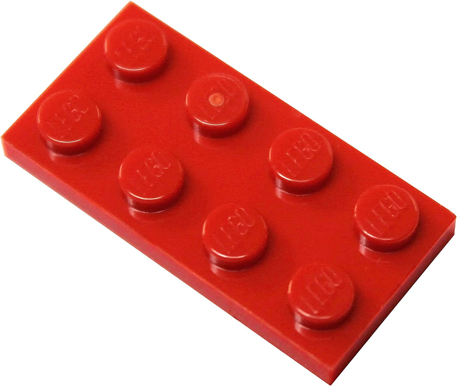 LEGO Parts and Pieces: Red (Bright Red) 2x4 Plate x50