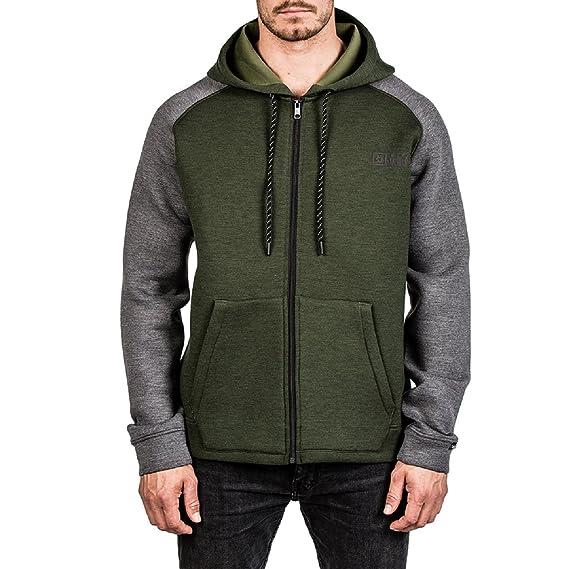 Heren Hoodie Vest.Mystic Heren Vest Hoover Sweat Green D Xl Amazon Co Uk Clothing
