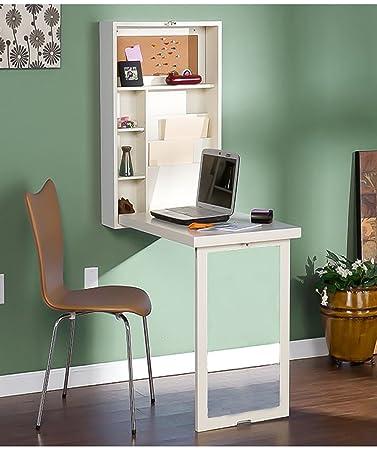 Sanlise Schreibtisch Wand-Klapptisch zur Fixierung an der Wand Ein ...