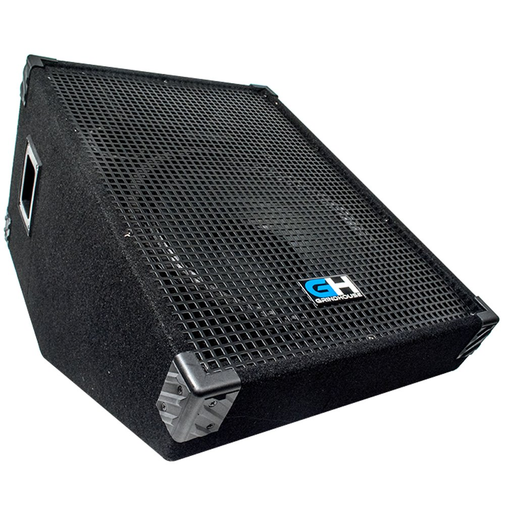 stage speakers png. amazon.com: grindhouse speakers - gh15m-pair pair of 15 inch passive wedge floor / stage monitors 400 watts rms each pa/dj stage, studio, live sound 10 png p