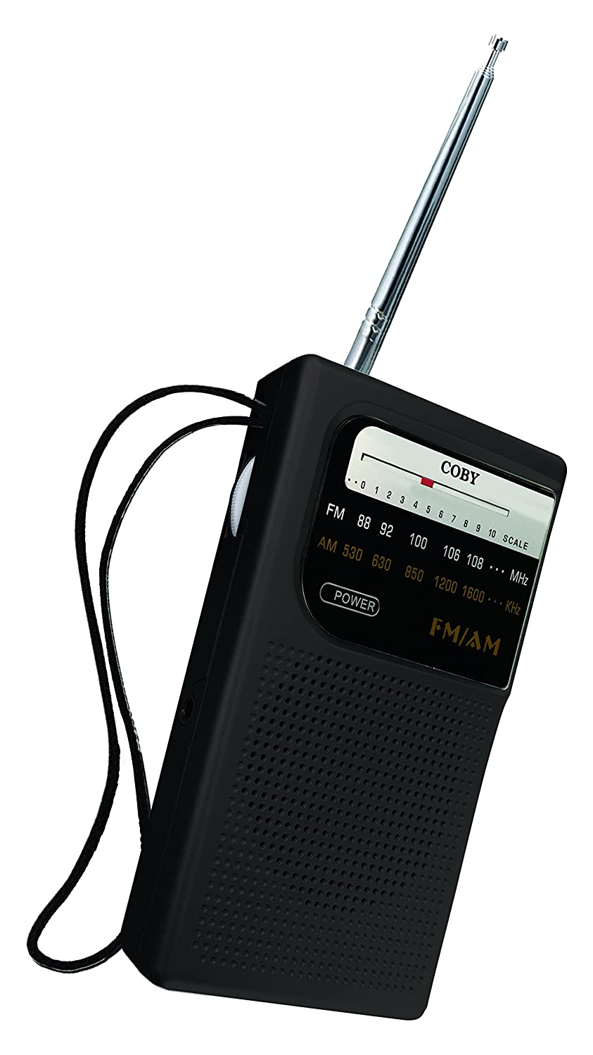 Amazon.com: Coby CR-203-BLK Pocket Size AM/FM Radio, Black: Home Audio &  Theater