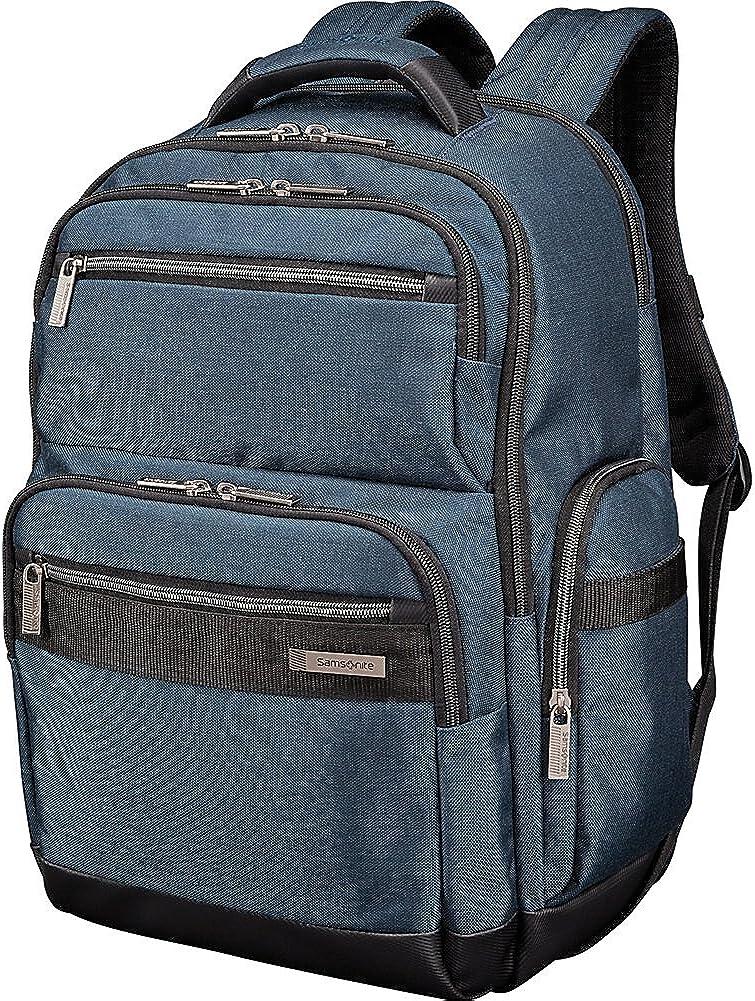 Samsonite Modern Utility GT Laptop Backpack – RFID-Blocking Passport Pocket – Fits Up To 15.6 Inch Laptops Tablets