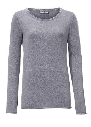 new style 1a4d1 d7a2c RICK CARDONA Damen Pullover Wolle grau 40: Amazon.de: Bekleidung