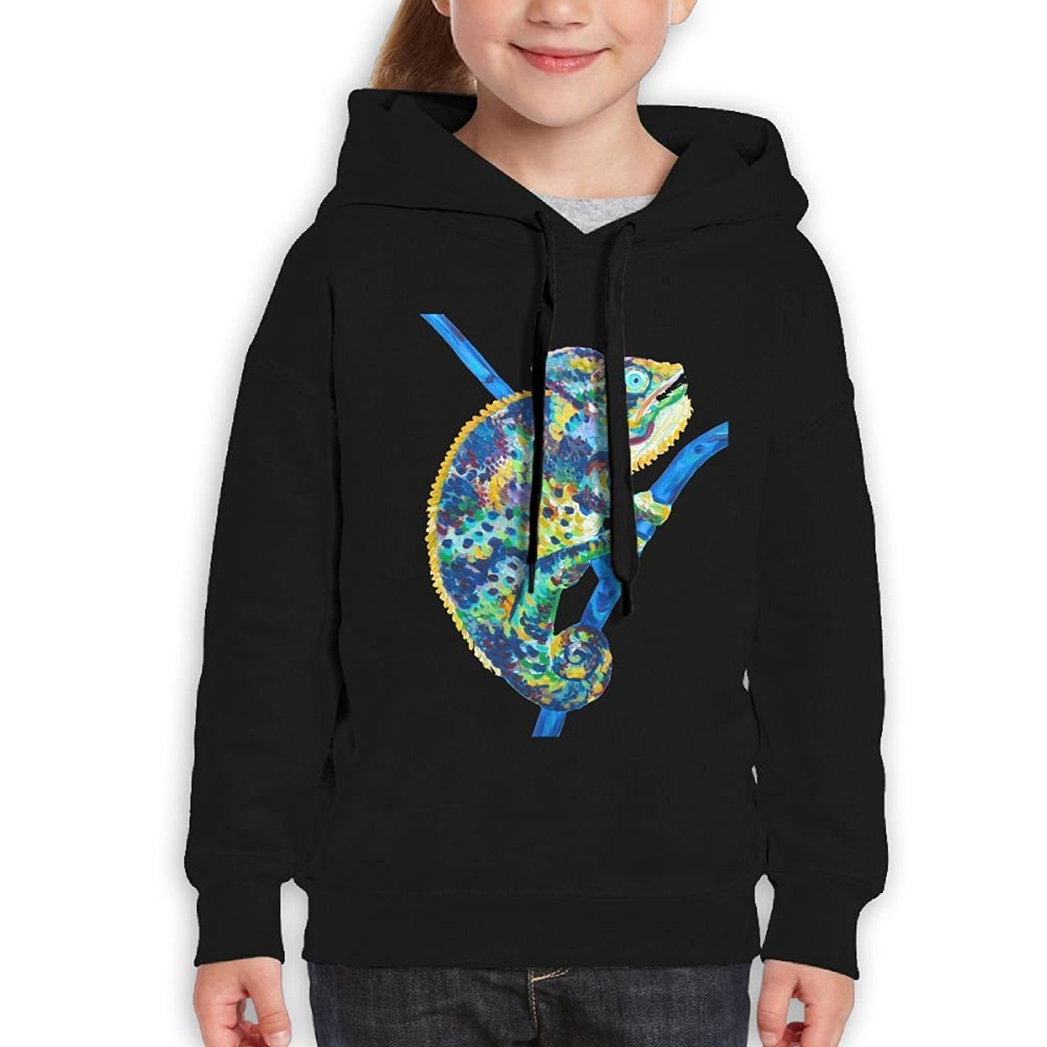 Starcleveland Teenager Pullover Hoodie Sweatshirt Reptile Teen's Hooded Boys Girls