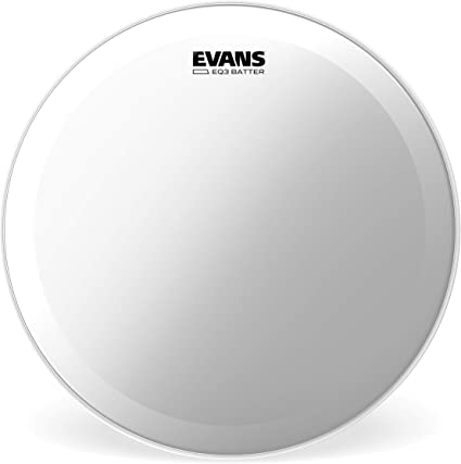 24 Inch Evans EQ3 Clear Bass Drum Head