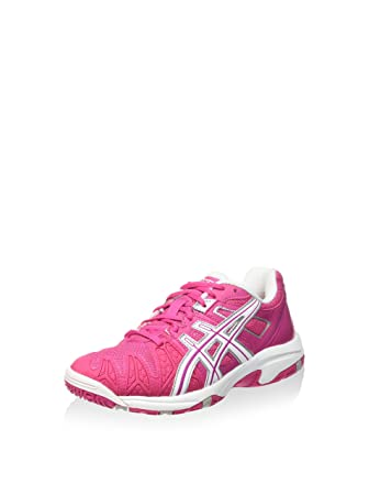 ASICS Zapatilla de Padel Resolution 5 GS Rosa 2014: Amazon.es: Deportes y aire libre