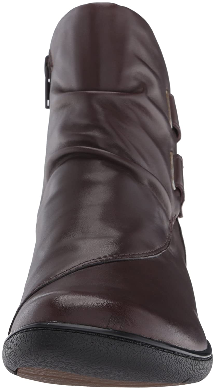 CLARKS Women's Kearns Burst Boot B019JTBMOA 7 B(M) US|Dark Brown