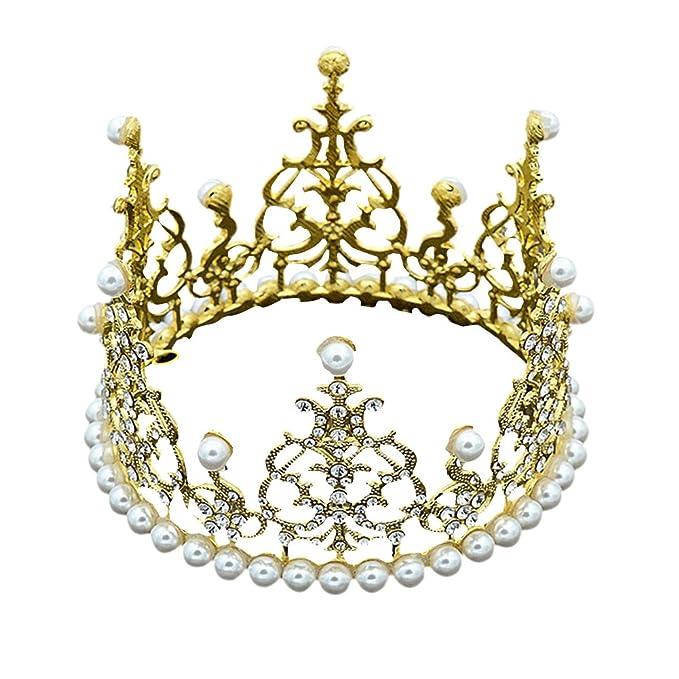 Pueri Corona Decoración para tartas para niñas princesa ...