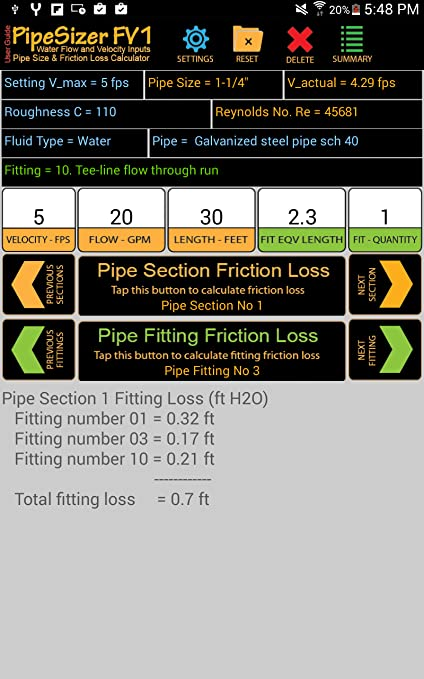 Amazon com: PipeSizer_FV1: Appstore for Android