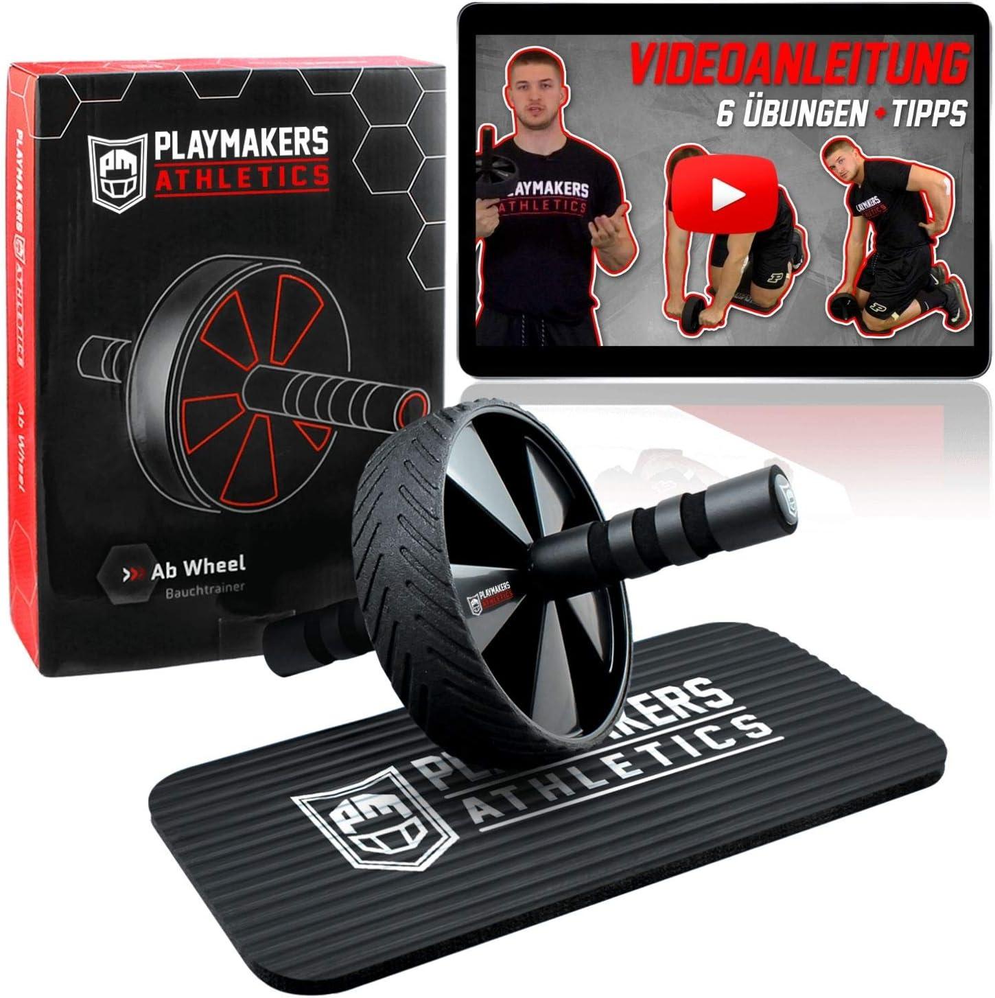Bauchmuskeltrainer Bauchrad Fitnessgeräte Wheel Bauchroller Trainingsgeräte