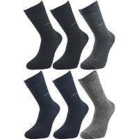 Ludo Vico Dört Mevsim Desenli Likralı 6 Çift Erkek Çorap