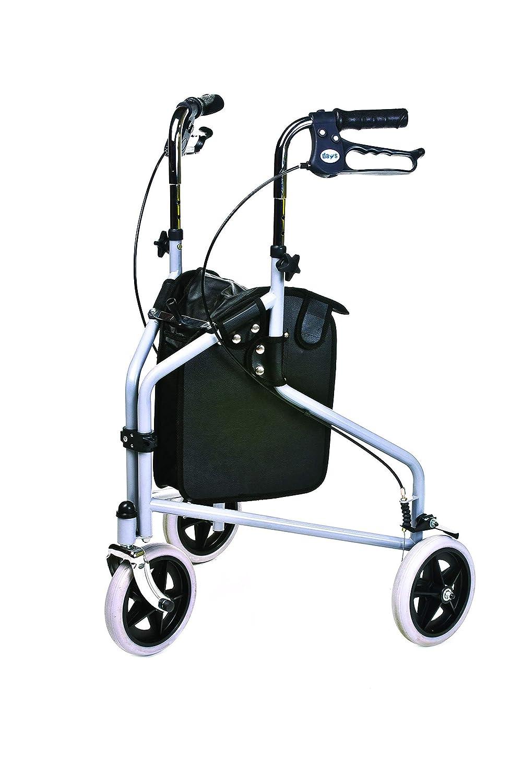 Patterson Medical - Andador de 3 ruedas y frenos bloqueables ...