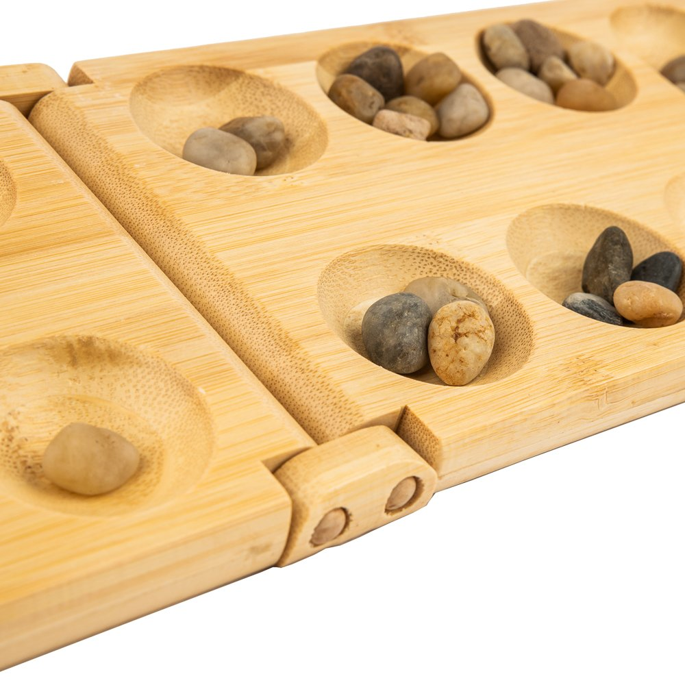 Comprar pandoo Bamboo Mancala - strategy board game - perfect for travel or holidays