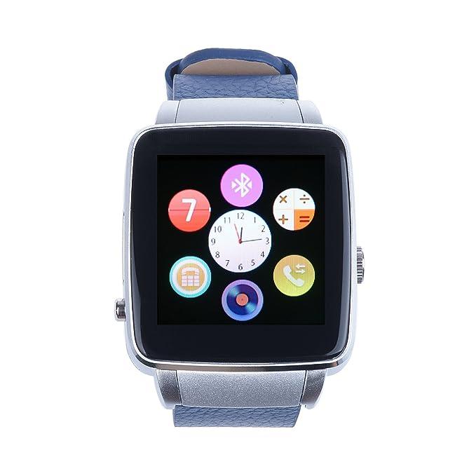 vinteky® Bluetooth Smart reloj X6 Smartwatch para hombre ...