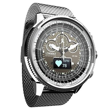Amazon.com: Reloj inteligente para hombre, podómetro ...