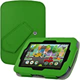 "LeapFrog Epic Case - HOTCOOL New PU Leather With Kickstand Cover Case For LeapFrog Epic 7"" Android-based Kids Tablet, Green"