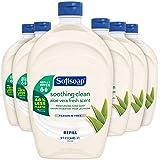 Softsoap - US05264A SOFTSOAP Liquid Hand Soap Refill, Soothing Aloe Vera, 50 Ounce Bottle, Bathroom Soap, Bulk Soap, Moisturi