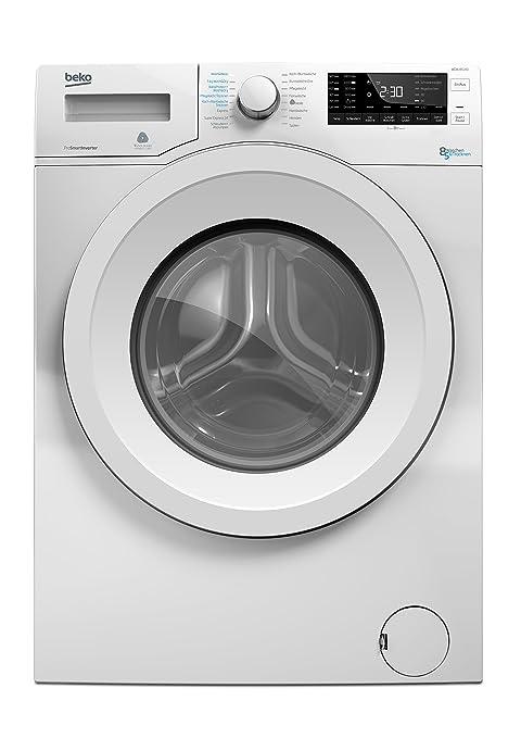Beko WDW 85140 Waschtrockner / 1088 kWh / 8 kg Waschen / 5 kg Trocknen / weiß / Aquawave-Schontrommel / Mengenautomatik / Wat