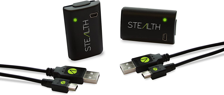 Stealth Play and Charge Battery Packs (Xbox 360) [Importación Inglesa]: Amazon.es: Videojuegos