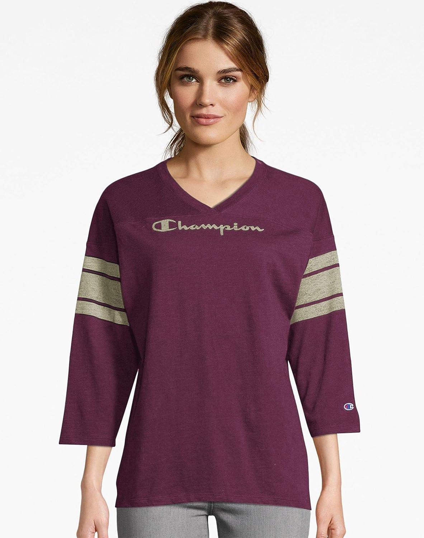 Champion Heritage - Maglietta da calcio da donna Indaco Imperiale.