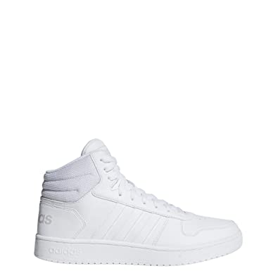 65d0cfa128c39 adidas Hoops 2.0 Mid, Chaussures de Fitness Homme, Blanc (Blanco 000),