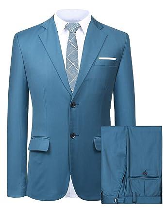 Traje Suit Hombre 3 Piezas Chaqueta Chaleco pantalón Traje ...