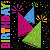 Neon Party Paper Napkins Pack of 16  sc 1 st  Amazon UK & 23cm Neon Party Plates Pack of 8: Amazon.co.uk: Toys \u0026 Games