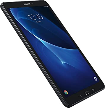 Samsung Galaxy Tab A SM-T580 10.1-Inch Touchscreen 16 GB Tablet (2 GB Ram, Wi-Fi, Android OS, Black) Bundle with 32GB microSD Card