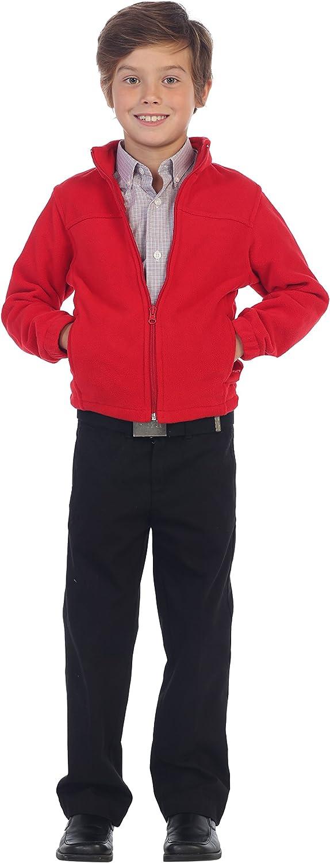 Gioberti Boys Full Zip Polar Fleece Jacket