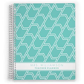 Customized 2018 planificador de profesor, agenda escolar ...
