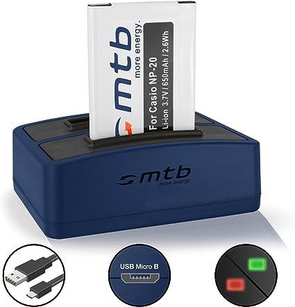 ex-s100 ex-s500 ex-s600 BATTERIA battery per Casio np-20 np20 Exilim s23 ex-s770