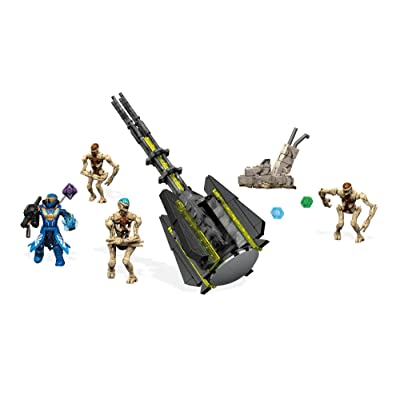 Mega Construx Destiny Hive Horde Attack Building Set: Toys & Games