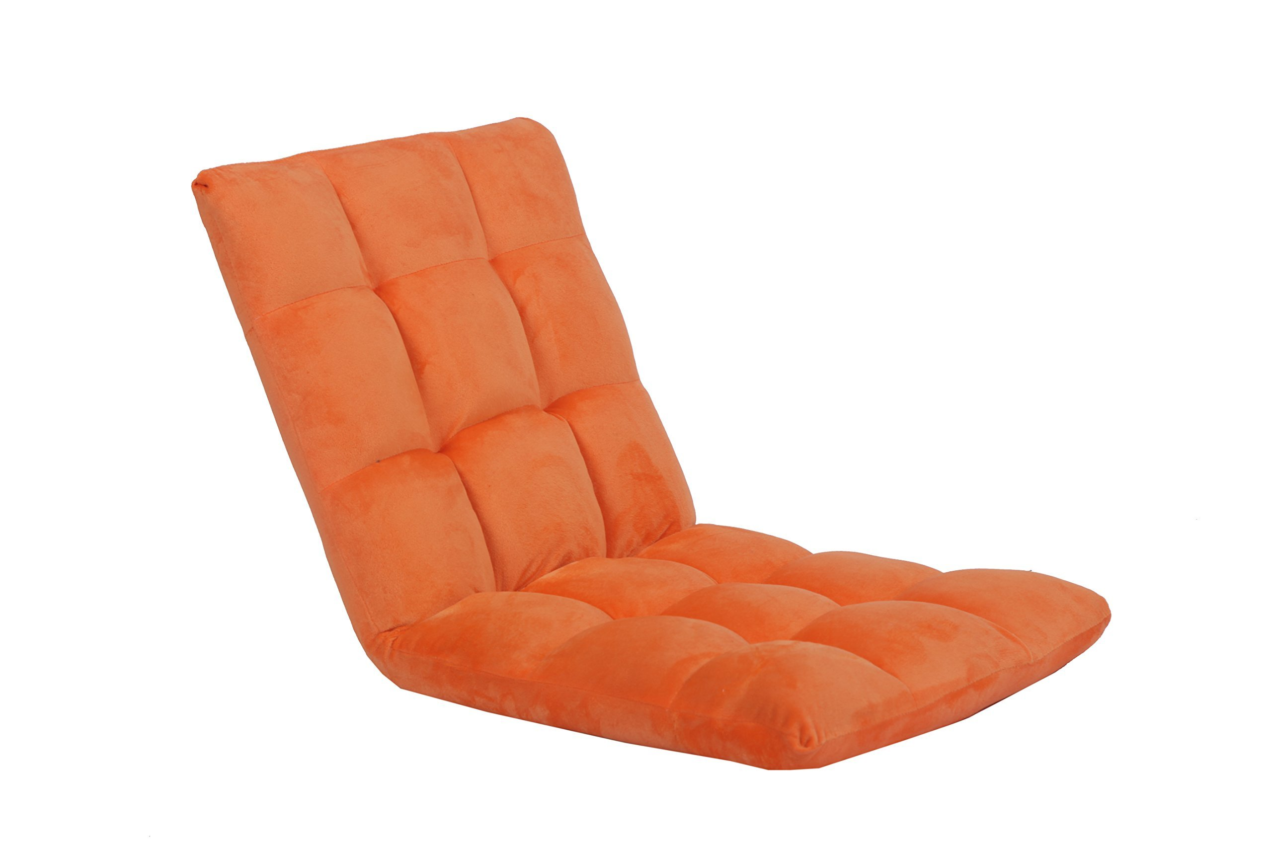 Porpora Folding Floor Chair Sofa Home Essential Orange