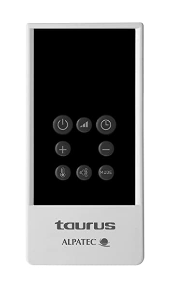 Taurus Rabat - Emisor térmico (600 W, 4 elementos, temporizador digital, sin fluidos): Amazon.es: Hogar