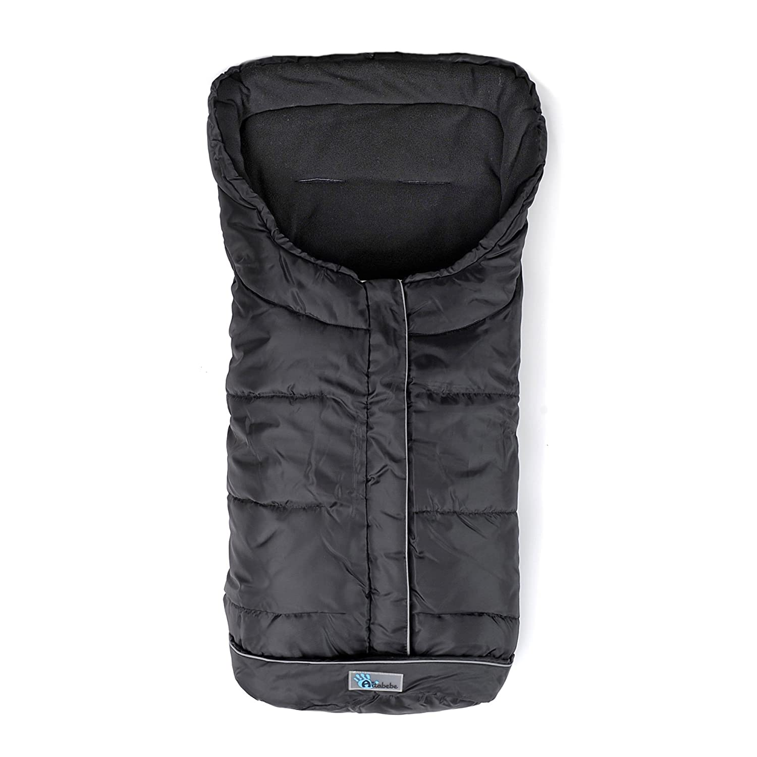 Altabebe Active Long Winter Footmuff for Stroller (12-36 Months, Black) AL2203XL-03
