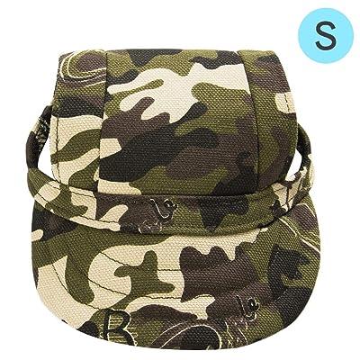 Furryzoo Dog Sport Hat/Pet Baseball Cap/Sun Hat/Canvas Visor Cap