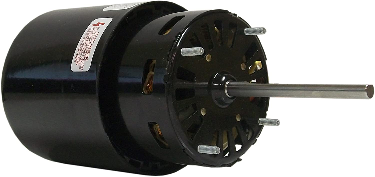 Fasco D504 3.3-Inch Self Cooled Motors, 1/8 HP, 115-230 Volts, 1500 RPM, 1 Speed, 1.6 Amps, OAO Enclosure, Reversible Rotation, Sleeve Bearing
