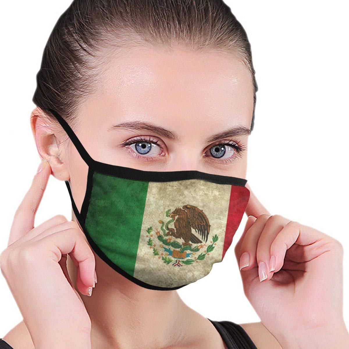 Antigua bandera de España Unisex ajustable boca máscara lavable – Máscara antipolvo