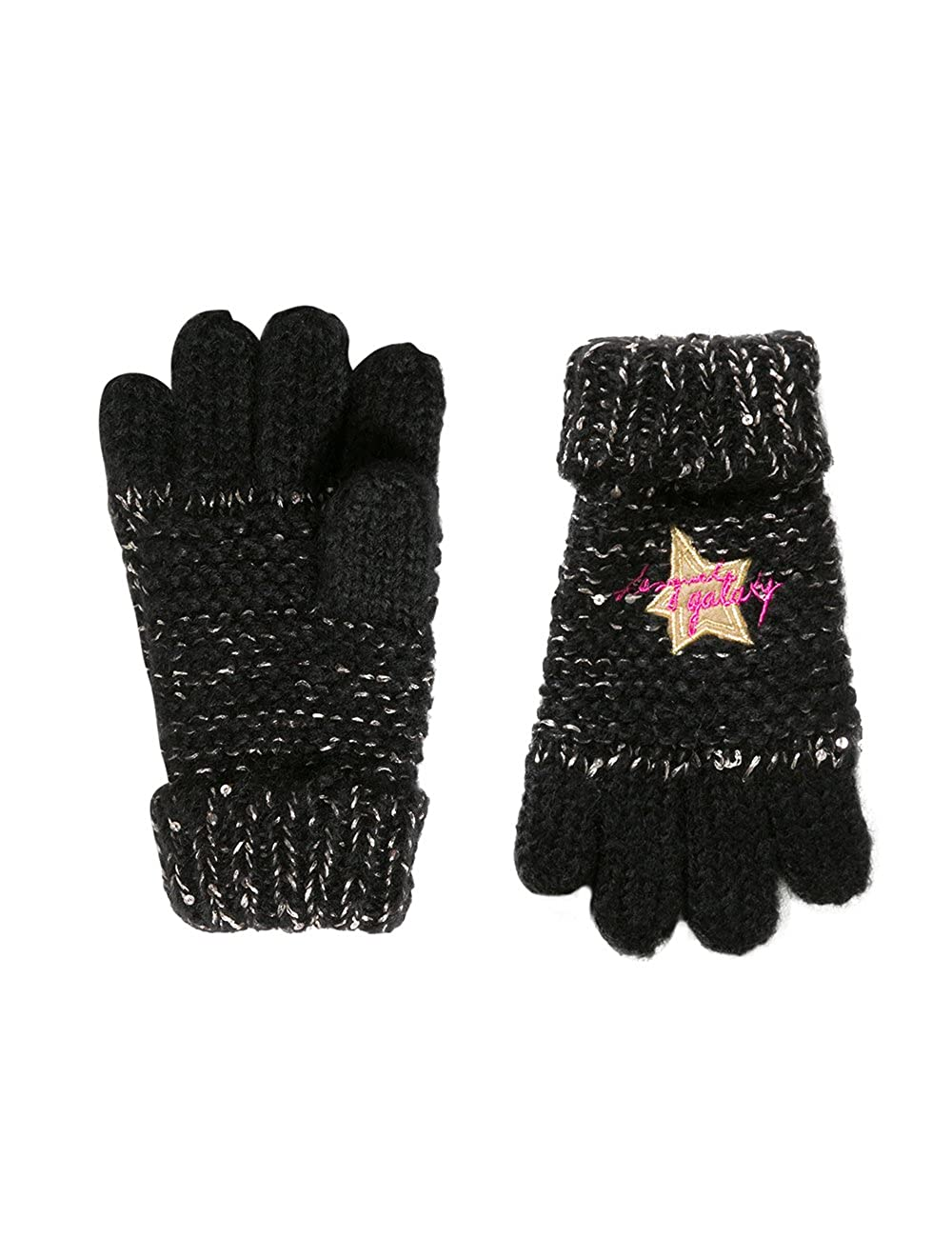 Desigual Girl's Gloves_rambutan