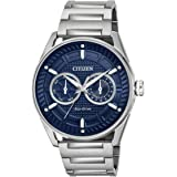 Citizen BU4020-52L Mens Eco-Drive Watch CTO Stainless Steel band
