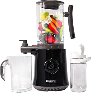 Balzano Yoga Blender/Smoothie Maker/Juicer/Soup Maker with Auto Seed Saperation and Immunity Booster - Black, compact