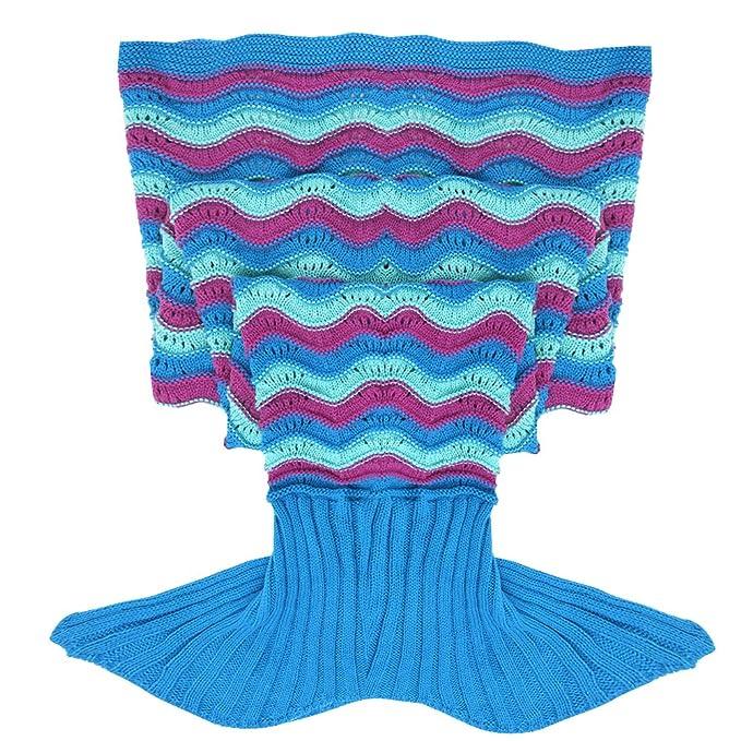feeshow adulto artesanía gancho tricoté Blanket manta saco ...